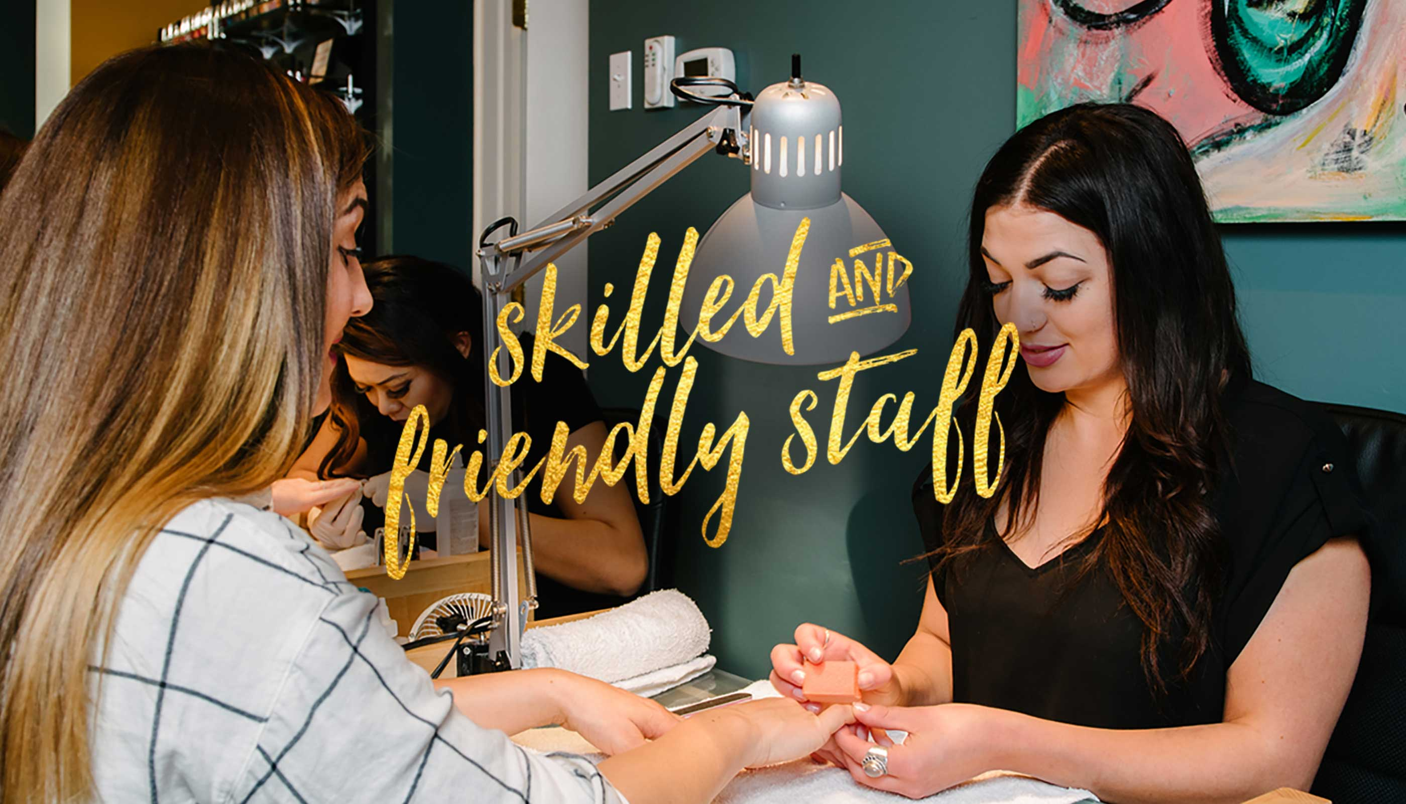 Nailed! Salon & Boutique | Salt Lake City Pedicures, Manicures, - Home